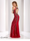 Clarisse Curvaceous Beaded Prom Dress 4831