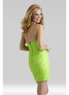 Neon Cocktail Dress 2334