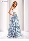 Clarisse Floral Print Two Piece Dress 3144