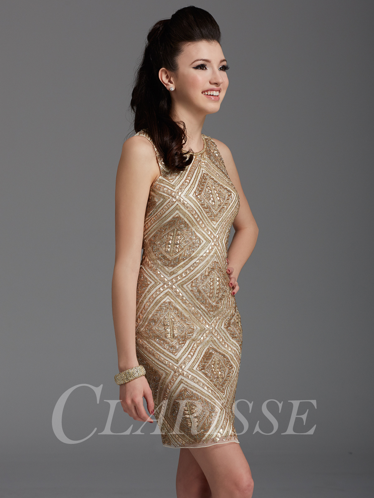 Clarisse Party Dress 2928 | Promgirl.net