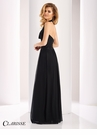 Clarisse Halter Cowl Neck Evening Gown 3103
