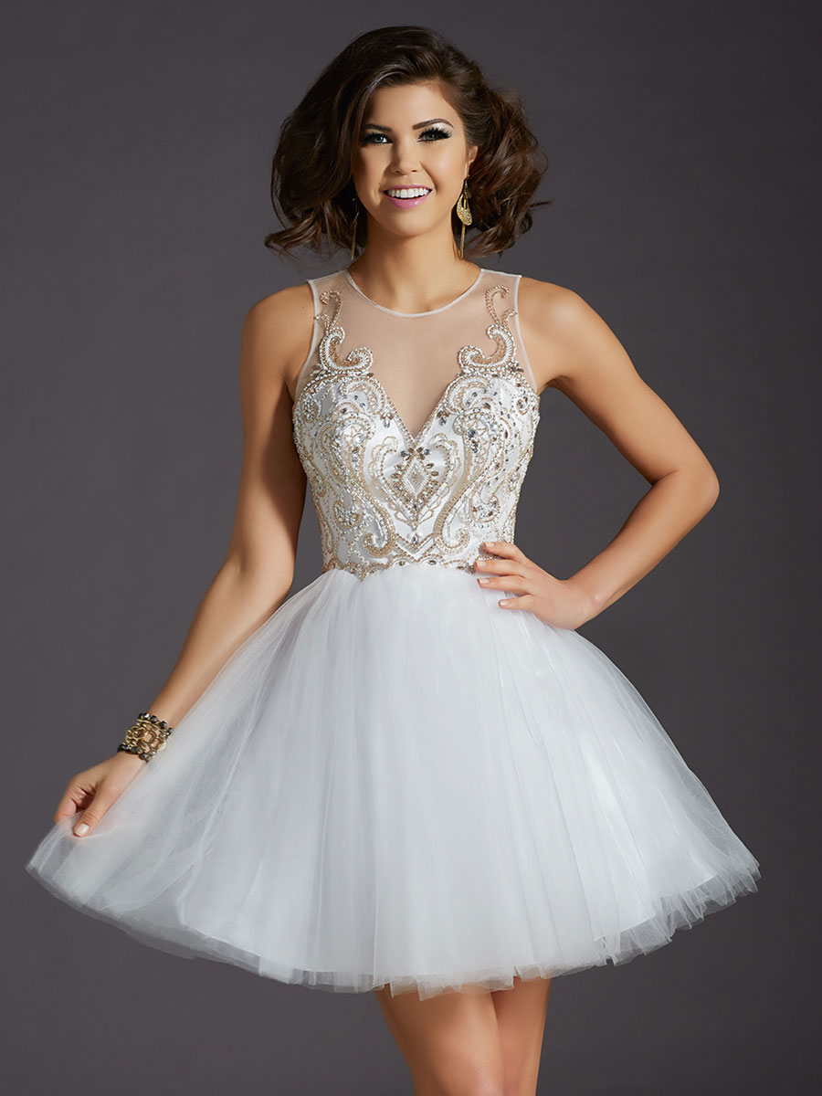 Clarisse Homecoming Dress 2642