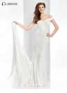 Clarisse Ivory Lace Evening Gown 4839