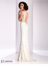Clarisse Ivory Soutache Embroidered Prom Dress 3171