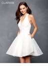 Clarisse Ivory Vintage Inspired Homecoming Dress 3600