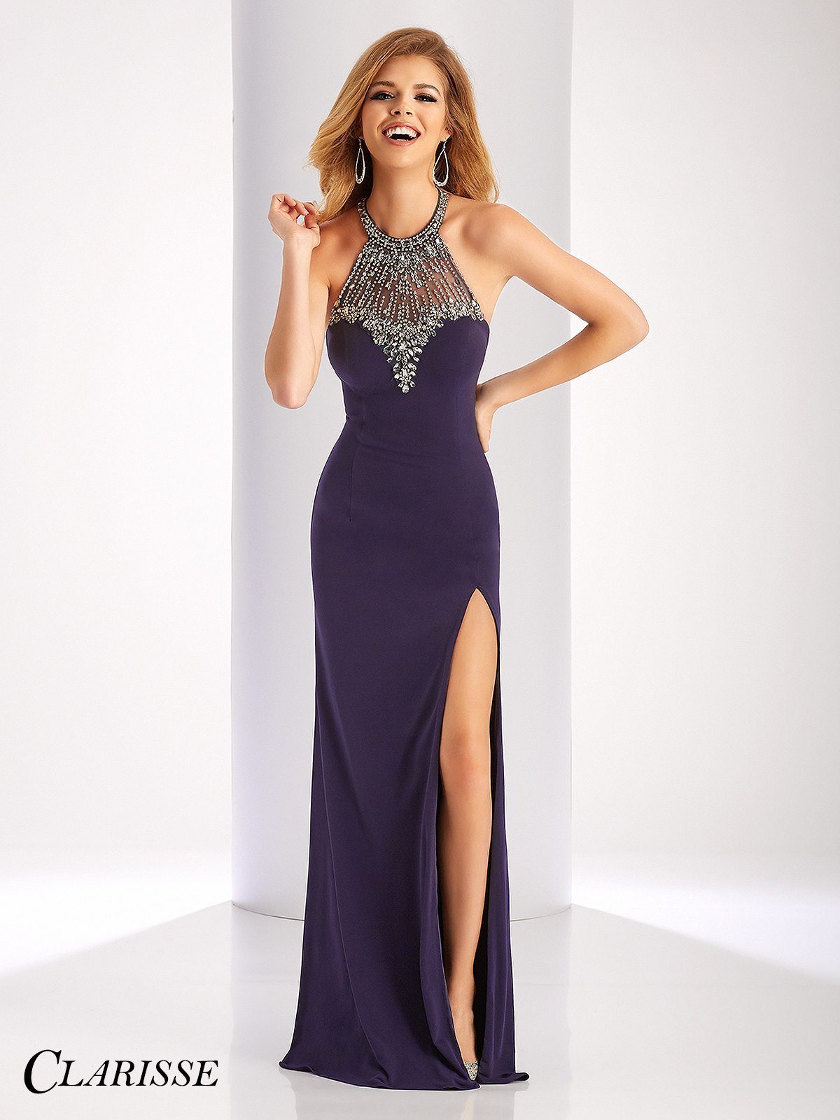 Prom Dresses with Collar