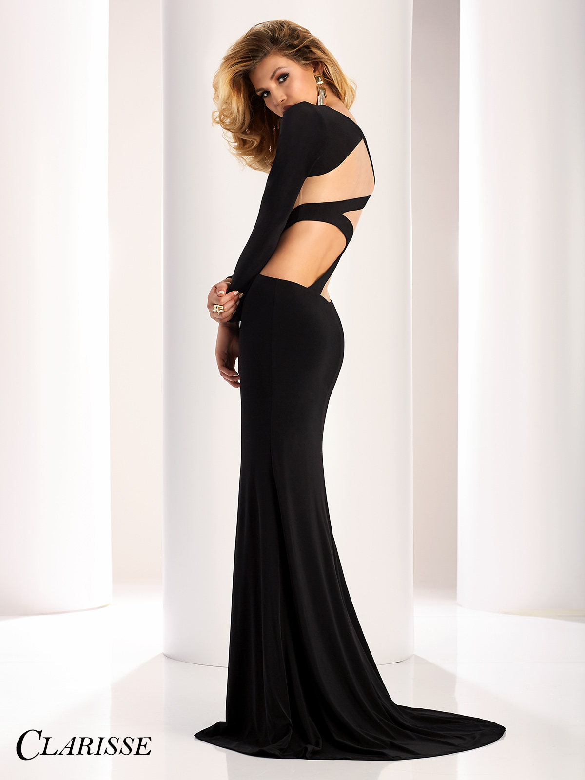 Sleeve Long cut out dress pictures new photo