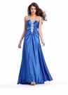 Long Charmeuse Prom Dress 1357