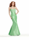 Taffeta Mermaid Prom Dress 1388