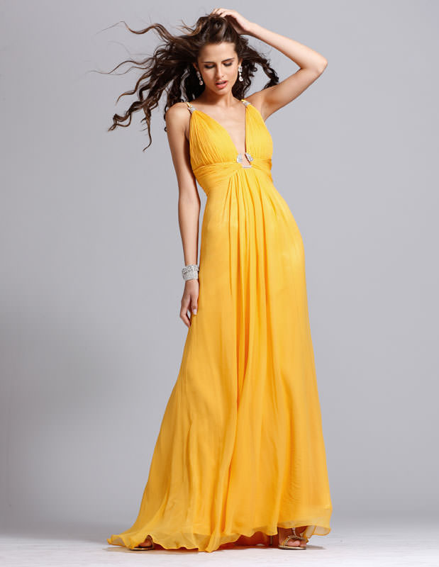 Halter Chiffon Formal And Evening Clarisse Prom Dress 1391