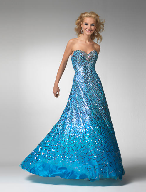Clarisse Prom Dress 1536 - Turquoise formal gown | Promgirl.net