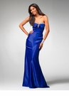 Fitted Strapless Prom Dress 1552