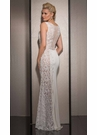 Ivory Lace Prom Dress 2569