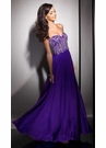 Purple A-line Prom Dress 2587