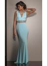 Classic Fitted Formal Dress 2601- 3 Colors!