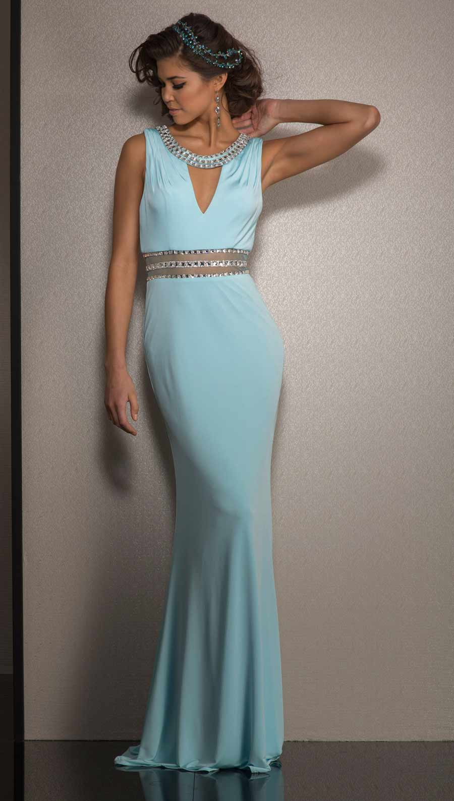 Clarisse Long Formal Prom Dress 2601 | Promgirl.net