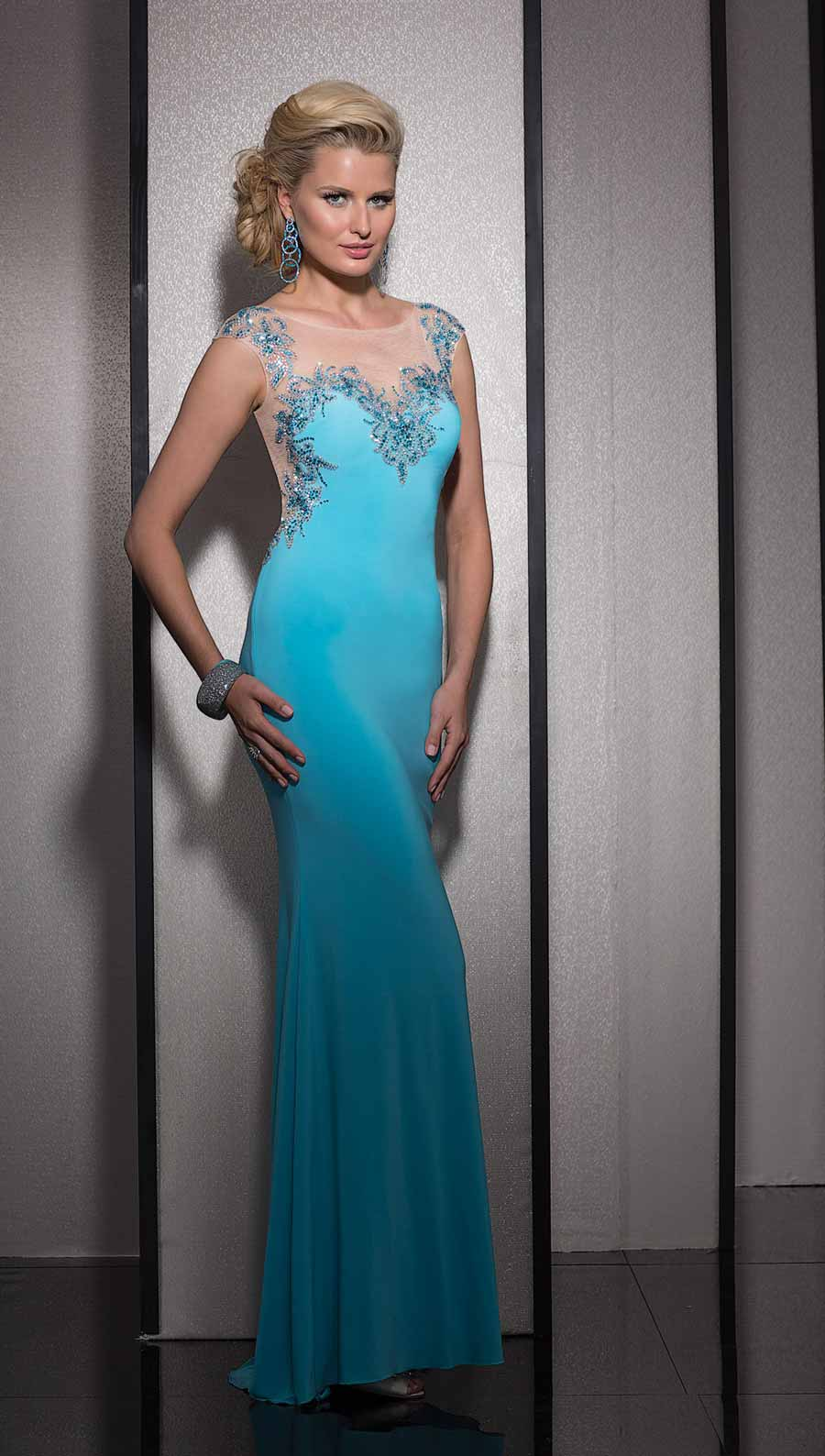 Clarisse Long Prom Dress 2603 | Promgirl.net