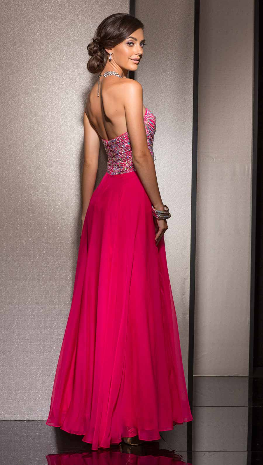 65a660daf84 Clarisse Long Formal Chiffon Prom Dress 2611