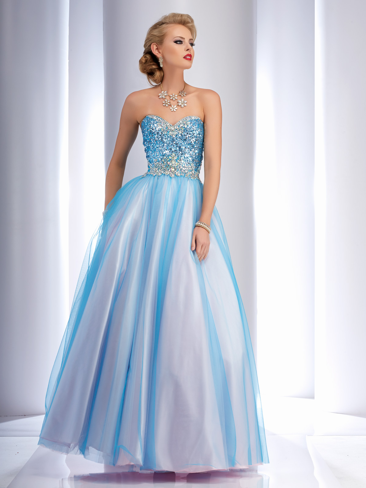 Clarisse Ball Gown Prom Dress 2620 | Promgirl.net