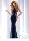 Sheer Prom Dress 2627- 4 colors!