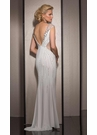White Sparkling Prom Dress 2634