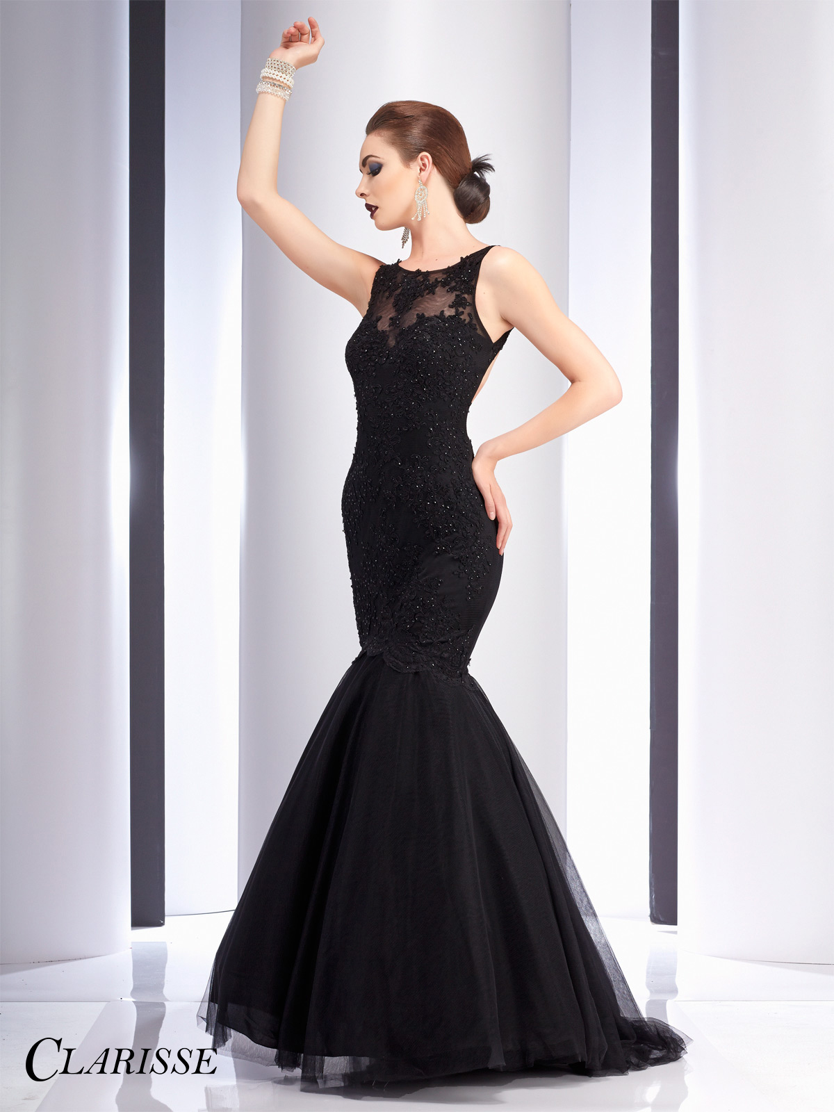 Clarisse Lace Mermaid Prom Dress 2714