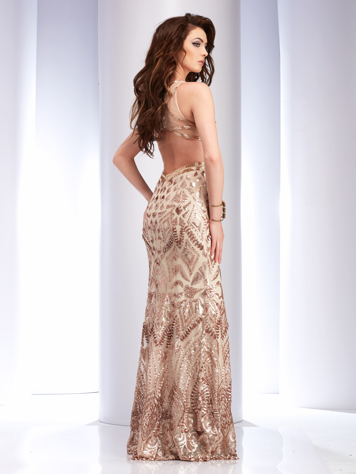 Bronze Prom Gowns
