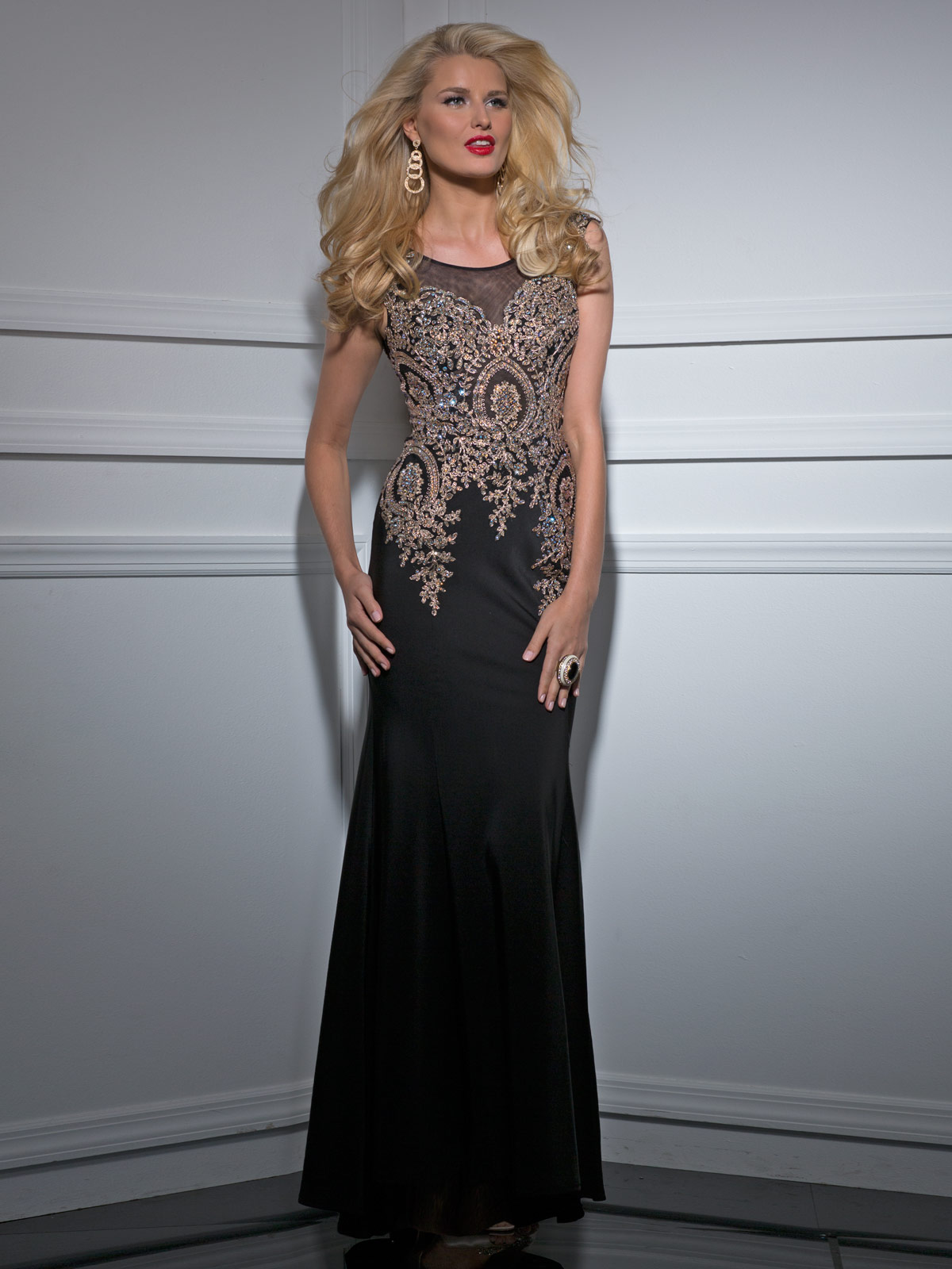 Clarisse Long Formal Prom Dress 4507 | Promgirl.net