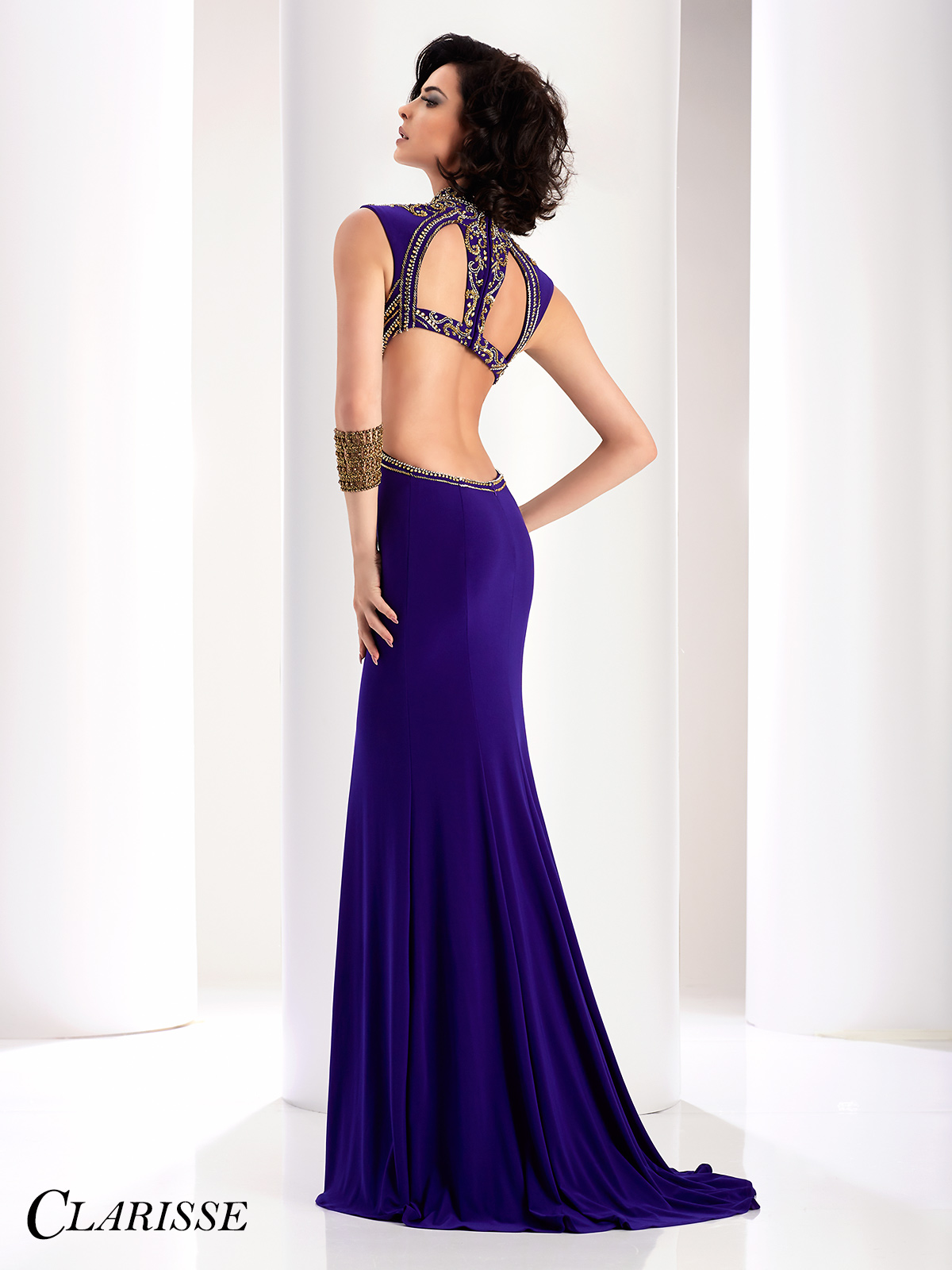 Purple And Gold Prom Dresses - Plus Size Prom Dresses