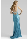 Bright Sequin Prom Dress 2413