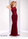 Clarisse Sheer Detail Prom Dress 3043