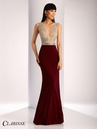 Clarisse Sheer Embellished Prom Dress 3080