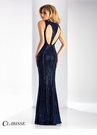 Clarisse Shimmering Royal Prom Dress 3136