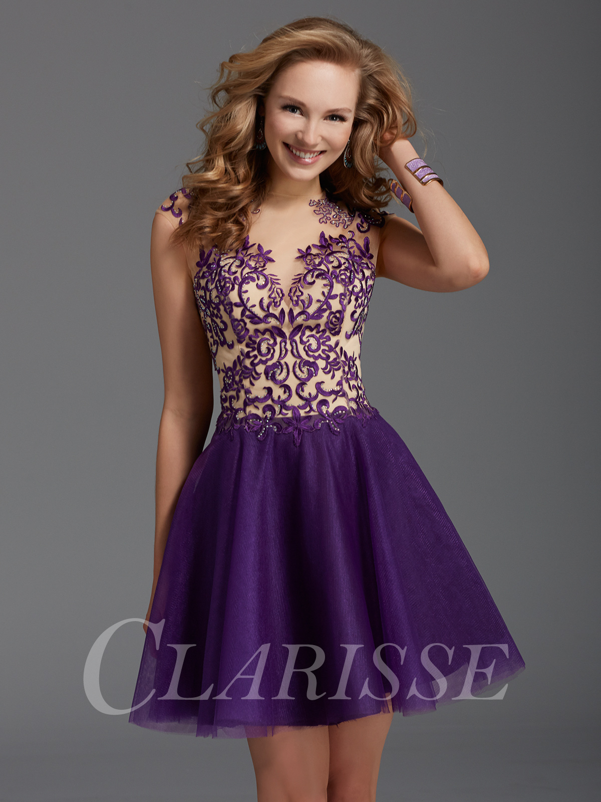 Clarisse Short Formal Dress 2918 | Promgirl.net