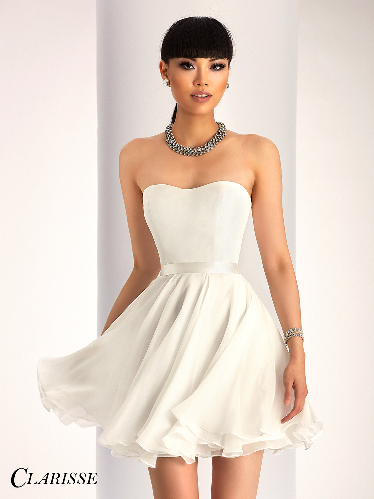 Clarisse Short Formal Dress 3215 | Promgirl.net