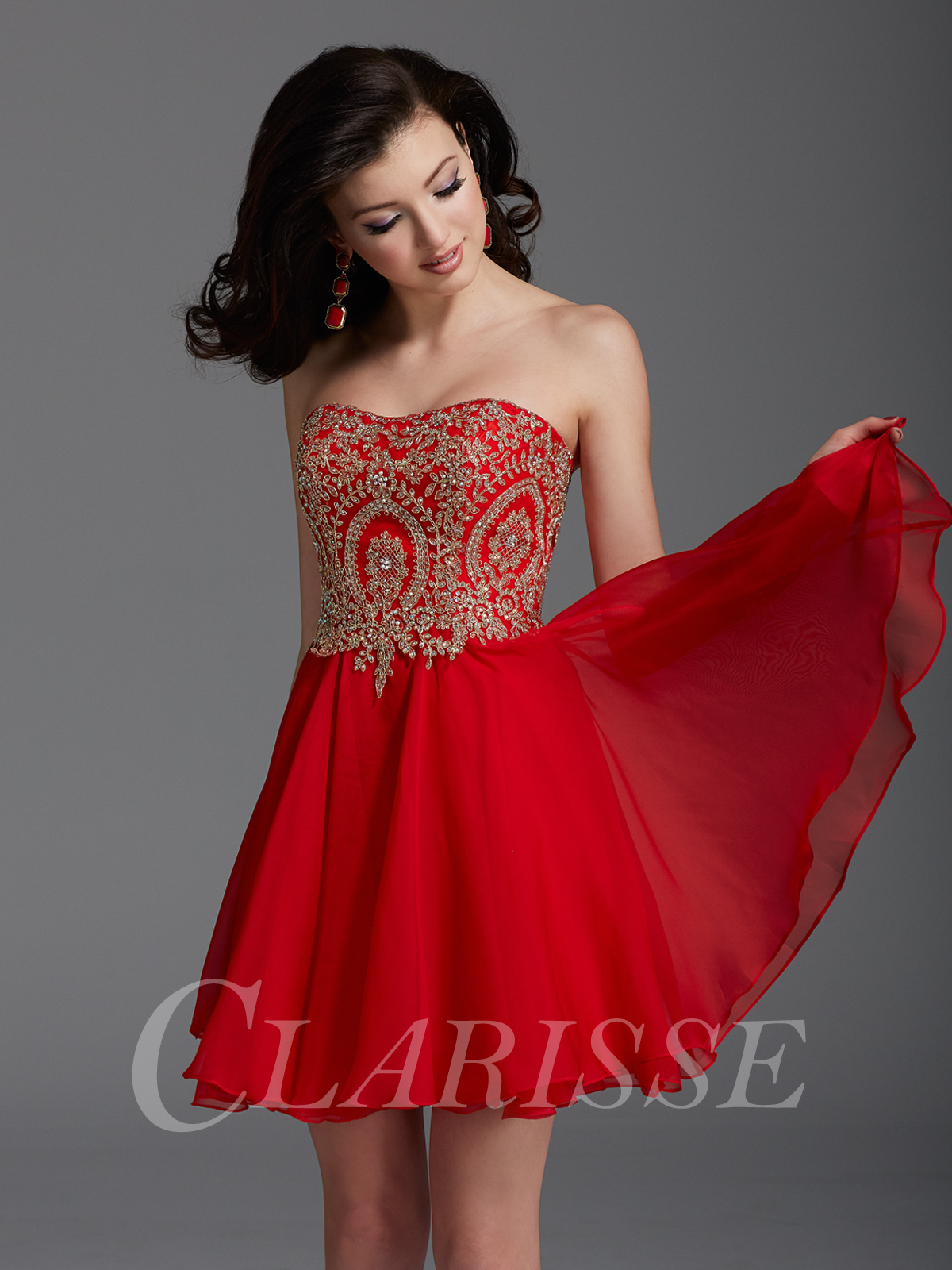026465250c ... Clarisse Short Homecoming and Prom Dress 2900 ...