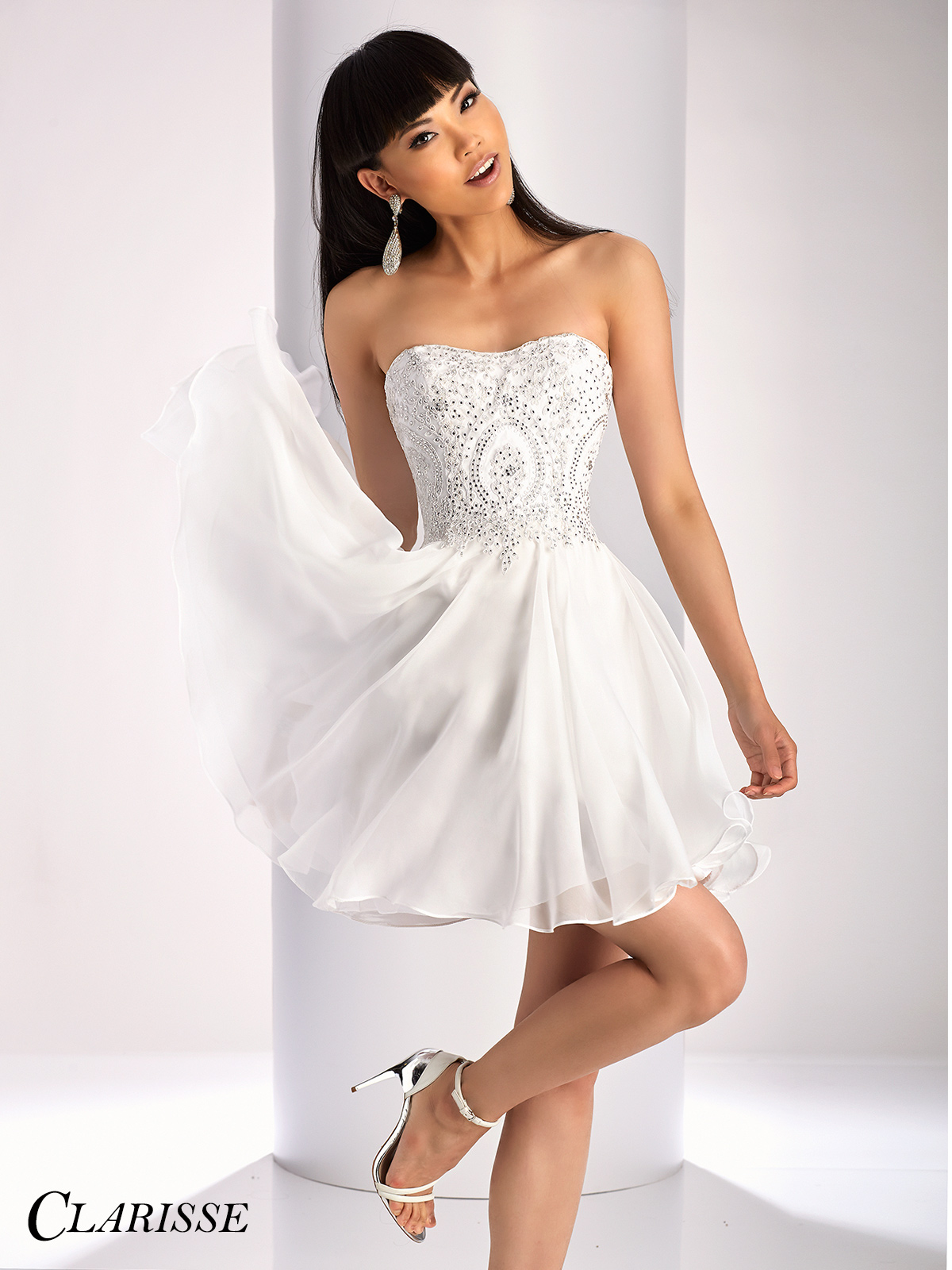 Clarisse Short Formal Dress 3214