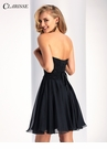 Clarisse Short Strapless Chiffon Dress 3214