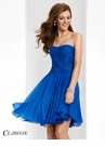 Clarisse Short Strapless Formal Dress 3213
