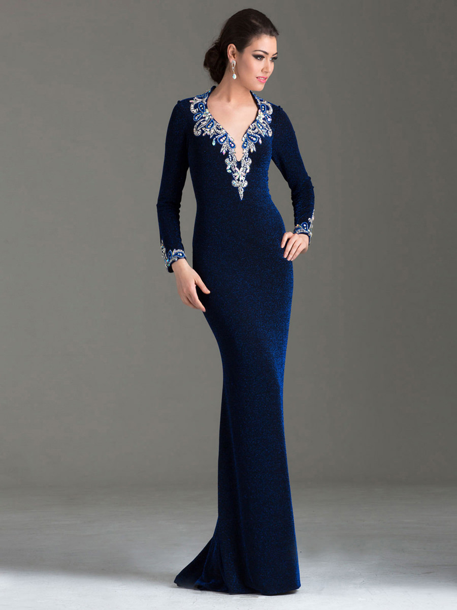 Blue Special Occasion Dresses