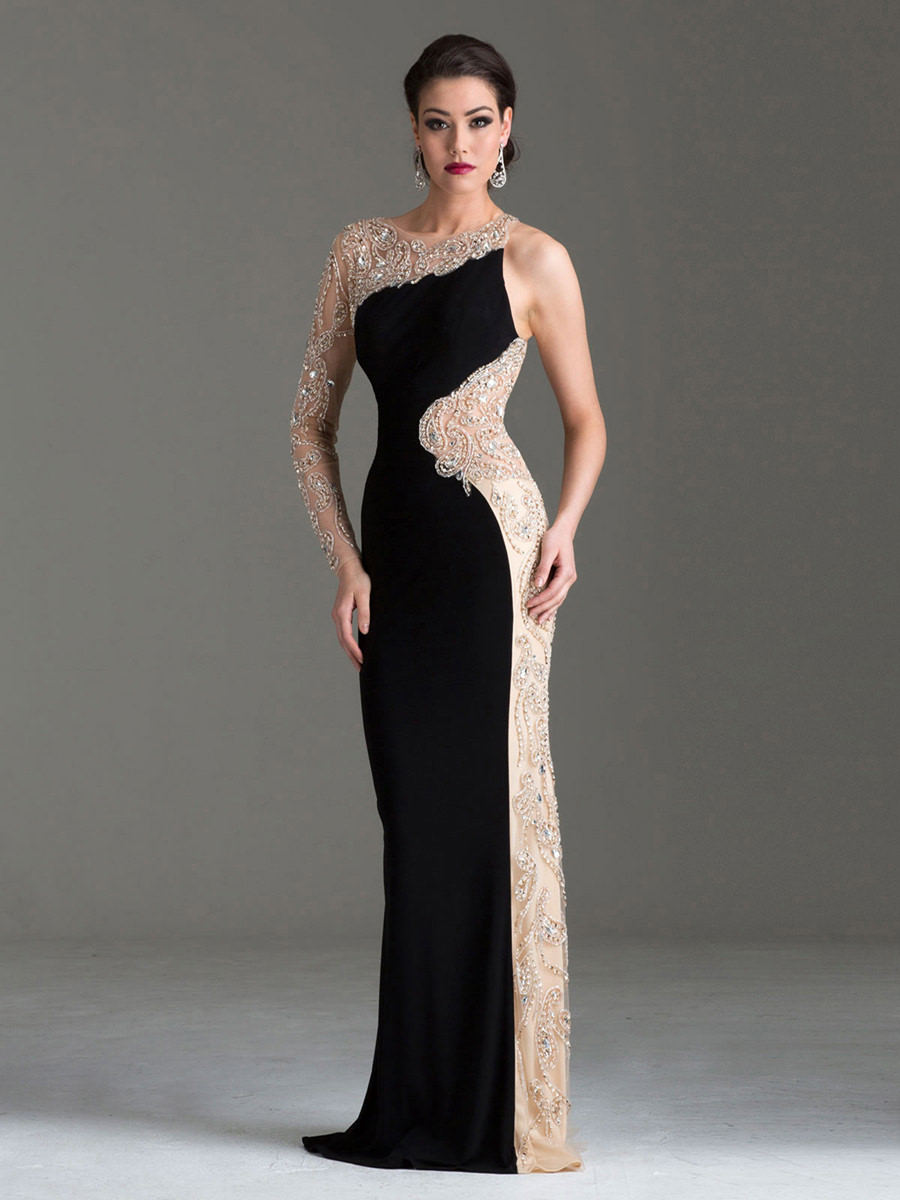 One Shoulder Evening Dress Clarisse M6146 | Promgirl.net
