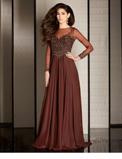 Brown Prom Dresses- Chocolate Formal Gowns | Promgirl.net