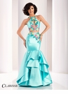 Clarisse Two Piece Mermaid Prom Dress 3038