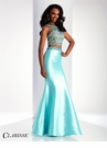 Clarisse Two Piece Mermaid Prom Dress 3071