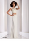 Clarisse Two Piece Ruched Prom Dress 4845