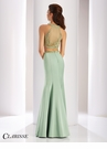 Clarisse Two Piece Satin Prom Dress 4824
