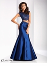 Clarisse Two Piece Taffeta Prom Dress 3148
