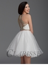 Clarisse White Homecoming Dress 2923