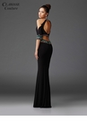 Cold Shoulder Two Piece Prom Dress 4920