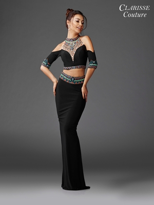 Two Piece Prom Dresses Promgirl